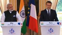 Déclaration conjointe avec M. Narendra MODI, Premier ministre de la République de l'Inde