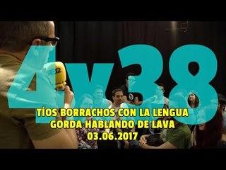NADIE SABE NADA - (4x38): Tíos borrachos con la lengua gorda hablando de lava