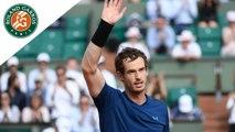 Roland Garros 2017 - Match du jour : Murray - Del Potro