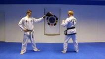 Taekwondo Jump Spin Hook Kick Tutorial