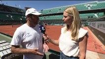 Toni Nadal Interview for Eurosport at Roland Garros 2017 (+ Rafa's practice)