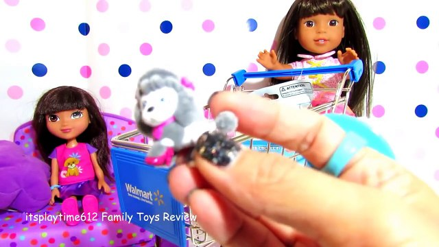SURPRISE TOYS SHOPPING CART with AG Doll Ashlyn _ itsplaytime61
