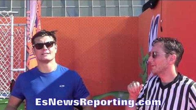 Bwymes Gets Dunked In Pool  - esnews
