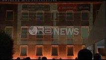 Ora News – Mesazhe në murin e Kryeministrisë: Rama drejt fundit