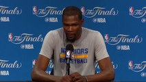 【NBA】Kevin Durant Media Availability Cavaliers vs Warriors Game 2 June 3 2017 2017 NBA Finals