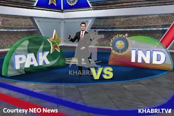 History of Pakistan and India Cricket Matches - 4th June Takra