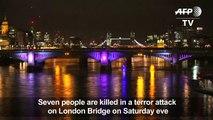 Three assailants kill 7 in London terror attack