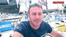 Solitaire Urgo - Le Figaro. Eric Péron fait son retour sur le circuit Figaro.