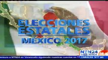 Cobertura NTN24 | Jornada electoral en México para elegir a los gobernadores del estado de México, Coahuila y Veracruz
