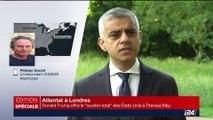 Attentat de Londres: Donald Trump s'en prend au maire de la capitale britannique