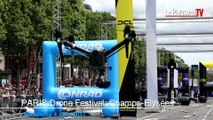 Des drones sur les Champs-Elysées !