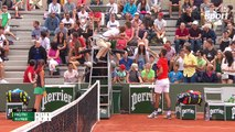 Benoît Paire fait expulser une spectatrice à Roland Garros