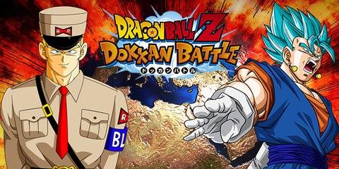 DBZ Dokkan Battle : Général Blue vs Vegeto Blue !