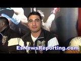 Erik Morales & Jessie Vargas on Mayweather vs Morales at 135 - EsNews