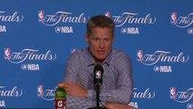 【NBA】Postgame Interview Steve Kerr Cavaliers vs Warriors Game 2 June 4 2017 2017 NBA Finals