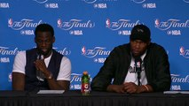 【NBA】Postgame Interview Kevin Durant Draymond Green  #1 Cavs vs Warriors Game 2 2017 NBA Finals