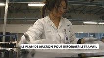 Le plan d'Emmanuel Macron pour réformer le travail - France