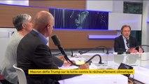 """Macron face à Trump: """"il a été bon (...) habile mais..."""" Luc Chatel"""