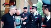 'Ndrangheta, arrestato il boss Giorgi il video dei baciamano mentre loportano via