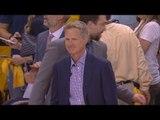 Steve Kerr Gets a Standing Ovation   Cavaliers vs Warriors   Game 2   June 4, 2017   2017 NBA Finals