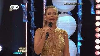 El Gran Show Diana Sánchez luce transparencia en baile final