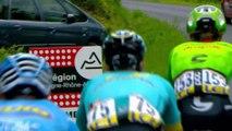 4 coureurs dans l'échappée / 4 riders in the breakaway - Étape 2 / Stage 2 - Critérium du Dauphiné 2017