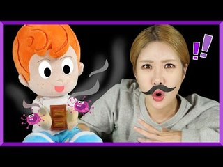 [Fairy Tale] Julie's 'I don't want to wash my hands' story | CarrieAndEnglish