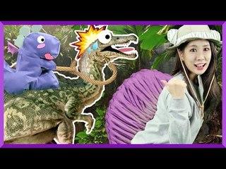 Julie's Dinosaur Story 'Spinosaurus' | CarrieAndEnglish