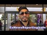 Abner Mares on oscar de la hoya comeback & talks leo santa cruz - esnews boxing