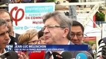 """Jean-Luc Mélenchon: """"Le code du travail, c'est pas le code de la route"""""""