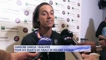 """Roland Garros – Garcia : """"J'étais motivée à l'idée de jouer ce match"""""""