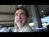 Criminal Minds Star Joe Mantegna On Oscar De La Hoya Boxing and Acting - EsNews Boxing