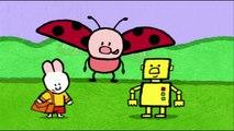 Un et un à un un à dessin animé enfants dessiner en volant pour Apprendre moi moi soucoupe à Il OVNI Louie  