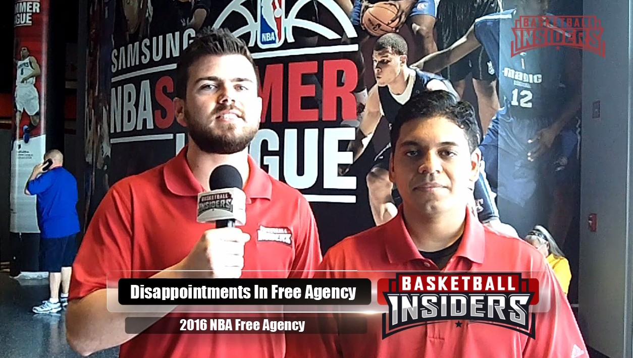 Biggest Disappointments in NBA Free Agency