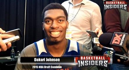 Dakari Johnson - 2015 NBA Draft Combine