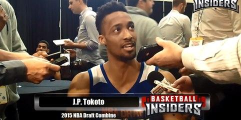 J.P. Tokoto - 2015 NBA Draft Combine