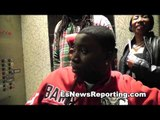 Boxing Champ Deontay Wilder Is  A Solid Guy - esnews boxing