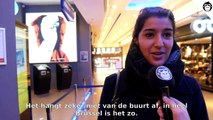 """Slet!"", ""Pute!"" Brusselse vrouwen reageren na opvallende campagne Meld Geweld"