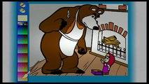 Masha e Orso 5 Italiano Episodo Cartoni animati educativi per bambini 1