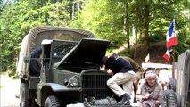 Une balade en jeep et véhicules militaires anciens