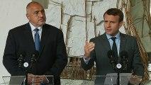 Déclaration conjointe avec M. Boïko BORISSOV, Premier ministre de la République de Bulgarie