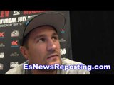 Kovalev Stevenson Not  A Real Champ Fights Trash - EsNews boxing