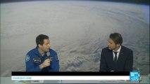 REPLAY - Première conférence de presse de Thomas Pesquet depuis son retour sur Terre