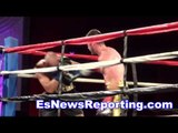 boxing star chris van Heerden Fight Highlights Looks Great - EsNews boxing