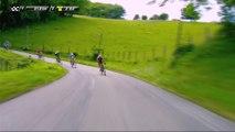 La FDJ à l'avant pour rentrer sur l'échappée / FDJ at the front to catch the breakaway - Etape 3 / Stage 3 - Critérium du Dauphiné 2017