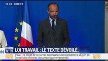 """Loi Travail: """"Je crois à la négociation et à la discussion"""", dit Edouard Philippe"""