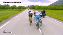 L'échappée donne tout pour s'adjuger la victoire / The breakaway is giving it all to take the win - Etape 3 / Stage 3 - Critérium du Dauphiné 2017