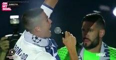 La punchline de Lucas Vazquez lors du discours de Cristiano Ronaldo