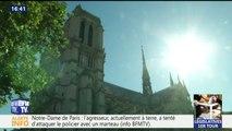 """Intervention à Notre-Dame de Paris: """"J'ai entendu deux déflagrations """", décrit un témoin"""
