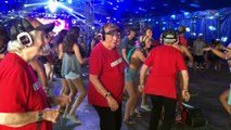 Amazing Senior Citizens Dancing At a Silent Disco - Daily Heart Beat 2016